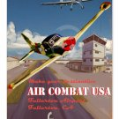AIR COMBAT USA HEAVY METAL SIGN