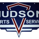 Hudson Parts Service BAKED ENAMEL SIGN