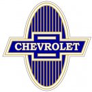 CHEVROLET BOW TIE HEAVY STEEL SIGN 11""