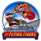 FLYING TIGERS HEAVY METAL SIGN