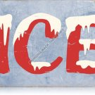 ICE HEAVY METAL WiNDOW SIGN