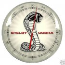 SHELBY COBRA RETRO THERMOMETER SIGN 14""