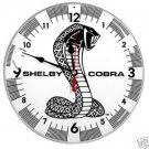 """SHELBY COBRA RETRO CLOCK 14"""""""