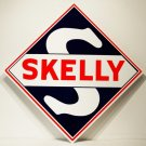 "SKELLY 24"" ALUMINUM SIGN"