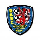 BRITISH AUTOMOBILE RACING CLUB METAL SIGN