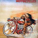 INDIAN MOTORCYCLE POSTER HEAVY METAL SIGN
