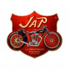 J.A. PRESTWICH SPEEDWAY MOTORCYCLES CUSTOM METAL SHAPE SIGN