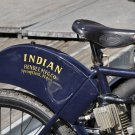 INDIAN MOTORCYCLE SIGN HENDEE MFG CO MAN CAVE HOME GARAGE SHOP NOSTALGIA