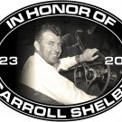 CARROLL SHELBY MEMORIAL OVAL SIGN MAN CAVE HOME GARAGE SHOP DECOR