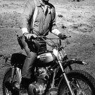 HONDA MOTORCYCLE JOHN WAYNE HEAVY METAL RETRO SIGN