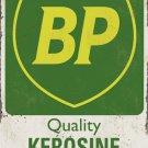 BP QUALITY KEROSINE HEAVY METAL RECTANGLE SIGN