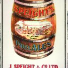 SPEIGHT'S  PRIZE ALES HEAVY METAL SIGN