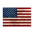 UNITED STATES AMERICA FLAG LARGE HEAVY METAL USA SIGN