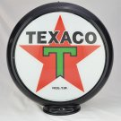 TEXACO BLACK TRIM T GAS PUMP GLOBE SIGN