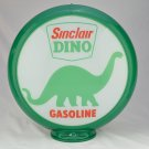 SINCLAIR DINO GAS PUMP GLOBE GLASS LENSES gas oil filling station