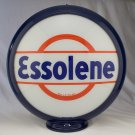 ESSOLENE GAS PUMP GLOBE GLASS LENSES oil filling station DECOR
