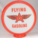 FLYING A GASOLINE GAS PUMP GLOBE GLASS LENSES oil filling station DECOR