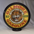 GILMORE BLU GREEN GAS PUMP GLOBE GLASS LENSES oil filling station DECOR