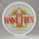 KANOTEX GAS PUMP GLOBE GLASS LENSES oil filling station DECOR