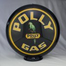 POLLY GAS GAS PUMP GLOBE GLASS LENSES oil filling station DECOR
