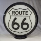 ROUTE 66 GAS PUMP GLOBE GLASS LENSES oil filling station DECOR