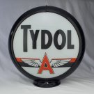 TYDOL GAS PUMP GLOBE GLASS LENSES oil filling station DECOR