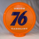UNION 76 GASOLINE GAS PUMP GLOBE GLASS LENSES oil filling station DECOR