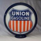 UNION GASOLINE GAS PUMP GLOBE GLASS LENSES oil filling station DECOR
