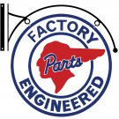 PONTIAC FACTORY ENGINEERED DOUBLE SIDED BRACKET SIGN