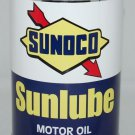 SONOCO SUNLUBE MOTOR OIL CAN NEW EMPTY