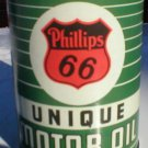 Phillips 66 Green Striped 32 Fluid Oz. Metal Oil Can
