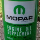 MOPAR ENGINE OIL SUPPLEMENT METAL CAN NEW EMPTY