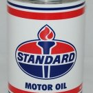 STANDARD MOTOR OIL METAL CAN 32 FL. OZ