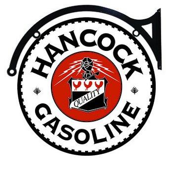 "HANCOCK DOUBLE SIDED SIGN BRACKET 22"""