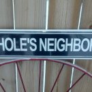MY FAVORITE NEIGHBOR METAL SIGN