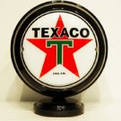 TEXACO MINI Gas Pump Globe lighted BLACK BODY Gasoline Sign