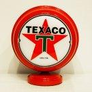 TEXACO MINI Gas Pump Globe lighted RED BODY Gasoline Sign