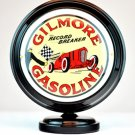 GILMORE GASOLINE MINI Gas Pump Globe lighted BLACK BODY Gasoline Sign