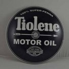 TIOLENE Motor OIL ROUND Heavy Metal DOME SIGN