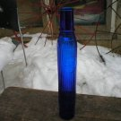 Tiolene Motor Oil Cobalt Blue Glass Bottle