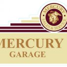 Ford Mercury Garage Sign 20 Gauge Steel Home Garage Shop Business Decor M