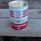 Cities Service Koolmotor Oil Can Metal New Empty 32 Fluid Oz.