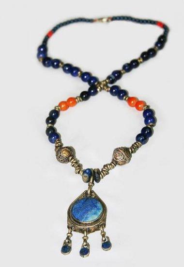 Turkmen Kuchi antique necklace