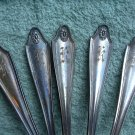 GEORGIAN 1912 Oneida Community LOT of 12 Silverplate SOUP PLACE SPOONS