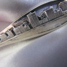 CHICAGO ILLINOIS Lake Michigan Waterfront Sterling Souvenir spoon by CHAS ROBBINS