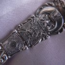 CHICAGO MASONIC TEMPLE Sterling Souvenir Spoon by WALLACE ILLINOIS