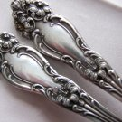 TIGER LILY Silverplate SERVING SPOON by REED & BARTON 1901 - 2 Available