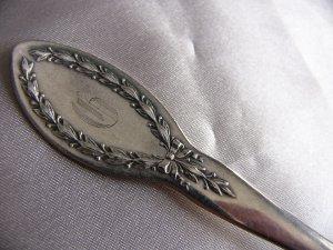 DIANA Silverplate TEASPOON by ALVIN 1910