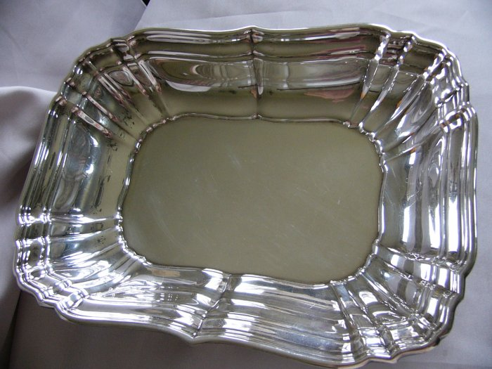 60% OFF!! - GORHAM Sterling  10 5/8 in. VEGETABLE SERVING BOWL CHIPPENDALE Style No 768