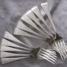 45% OFF!! Engraved ROSE Sterling DINNER FORKs circa 1885 BAILEY BANKS & BIDDLE